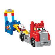 Mega Bloks: Caminhão de Transporte e Construção Mattel