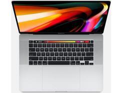 "MacBook Pro APPLE Prateado – Z0Y1AT (16"" – Intel Core i7 – RAM: 64 GB – 4 TB SSD – AMD Radeon Pro 5500M)"