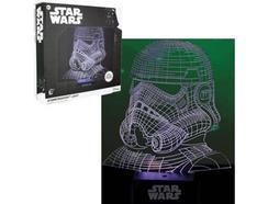 Candeeiro 3D USB STAR WARS Stormtrooper