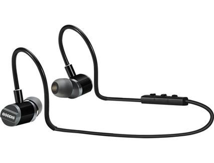 Auriculares Bluetooth GOODIS Extr Zephyr (In Ear – Microfone – Preto)