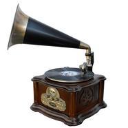 Grafonola SOUNDMASTER NR917 (Velocidade: 33 1/3 – 45 – 78 – USB – Bluetooth – Leitor de CD's)