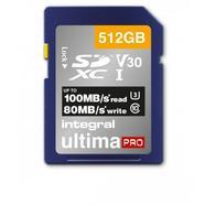 Cartão de Memória Integral Micro SDXC Ultima Pro V30 512 GB