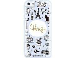 Capa LOVELY STREETS Viagem Paris iPhone 5, 5s, SE