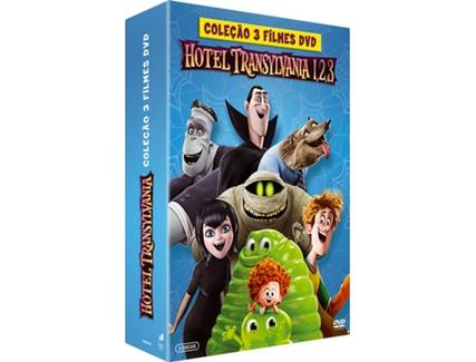 DVD Hotel Transylvania 1+2+3