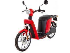 Scooter elétrica ASKOLL eS1 Vermelha