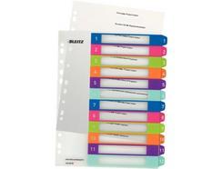 Separadores Imprimíveis LEITZ WOW 12 cores