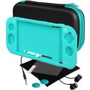Kit Capa de Silicone + Protetor de Ecrã + Auscultadores BLACKFIRE para Nintendo Switch Lite (Verde)