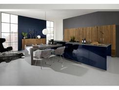 Cozinha Moderna Wood Azul