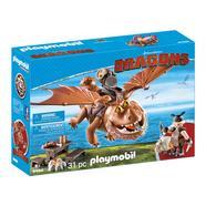 Playmobil Dragons: Molenga e Perna de Peixe