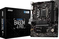 MSI B460M-A PRO (Socket LGA1200 – Intel B460 – Micro-ATX)
