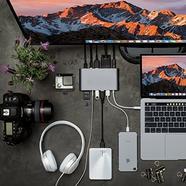Hub HYPERDRIVE Ultimate 11-em-1 USB-C Cinzento