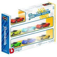 Pack de 7 veículos Burago