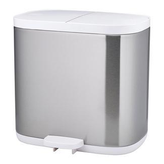 Cesto de lixo de casa de banho com pedal 6 L Split™ Aço