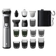 Aparador de barba corpo e cabelos Philips MG 7736/15 MULTIGROOM Series 7000 16 em 1 Inox/Preto