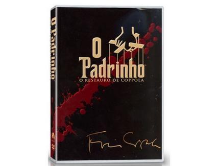 DVD Trilogia o Padrinho – Versão Restaur.