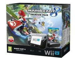 Consola Nintendo Wii U Premium Pack 32Gb + Mario Kart 8