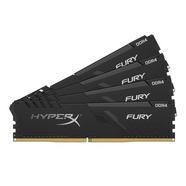 Memória RAM DDR4 KINGSTON HyperX Fury (4 x 8 GB – 2666 MHz – CL 16 – Preto)