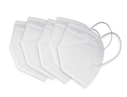 Máscara de Proteção FFP2/N95 Branca (5 unidades)