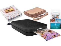 Impressora Portátil HP Sprocket 200 Pack Álbum + Recargas + Bolsa