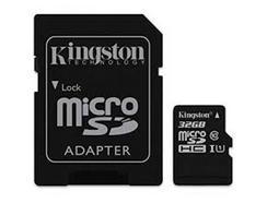 Cartão Memória MicroSDHC KINGSTON 32GB
