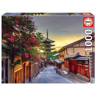 Puzzle Yasaka Pagoda Quioto Japão 1000 peças Educa