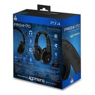 Auscultadores Gaming 4Gamers Stereo PRO4-70 Preto