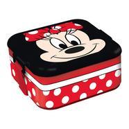 Porta alimentos Bento Minnie Disney Vermelho