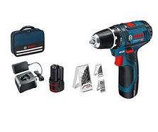 Bosch Professional GSR 12V-15, 39 peças