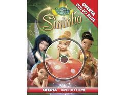 DVD Sininho & Livro