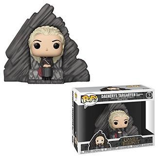 Figura Vinil FUNKO POP! Guerra dos Tronos: Daenerys on Dragonstone Throne