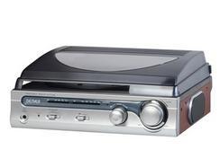Gira-Discos Rádio/Colunas DENVER VPR130