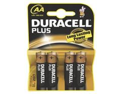 Pilhas Plus DURACELL Lr6 Emb4