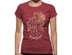 T-shirt Vermelha HARRY POTTER Gryffindor Tamanho S