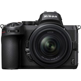 Câmara Mirrorless Nikon Z5 + Objectiva 24-50 mm F/4-6.3 Preto