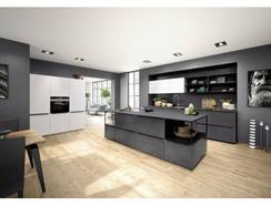 Cozinha Moderna Efeito Pedra Preta