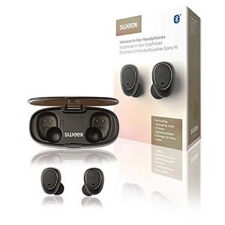 Auriculares Bluetooth True Wireless Sweex SWTWS01B – Preto