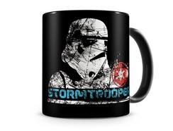 Caneca STAR WARS Negra Storm Trooper