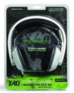 Auscultadores Xbox 360 PLANTRONICS Gamecom X40