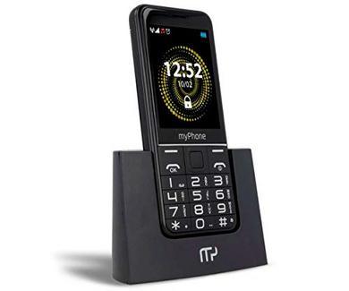 "Telemóvel MYPHONE Halo Q (2.8"" – 2G – Preto)"
