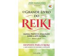 Livro O Grande Livro do Reiki de João Magalhães