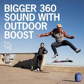 Coluna Bluetooth ULTIMATE EARS Wonderboom 2 (Cinza – Alcance: 33 m – Autonomia: 13 h)