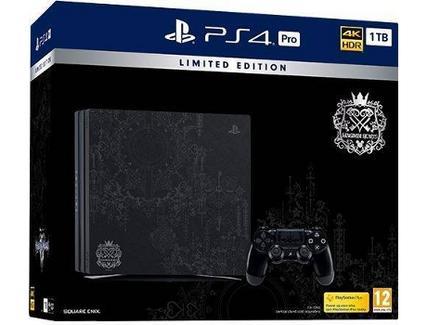 Consola PS4 1TB Pro + Kingdom Hearts III