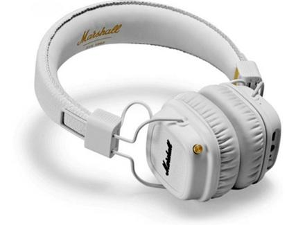Auscultadores Bluetooth Marshall Major II Branco