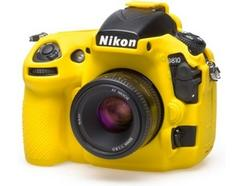 Capa de silicone EASYCOVER Nikon D810 Amarelo