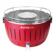 Grelhador FLAMA 4006FL Mastergrill Vermelho (4 x AA)
