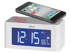 Rádio Despertador AEG MRC 4140 Branco