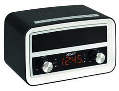 Rádio Despertador DENVER CRB-619 black