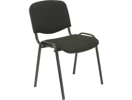 Pack de 2 Cadeiras de Visitante PIQUERAS Y CRESPO Alcaraz Preto (Tecido)