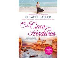Livro Os Cinco Herdeiros de Elizabeth Adler