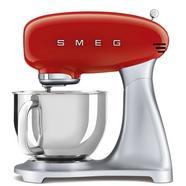 Robô de Cozinha SMEG Anni 50 SMF02RDEU (4.8 L – 800 W – 5 acessórios)
